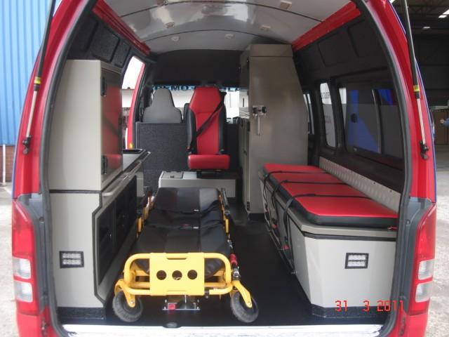 Toyota Quantum High Roof ambulance