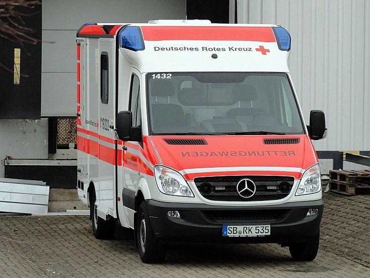 German Red Cross ambulance