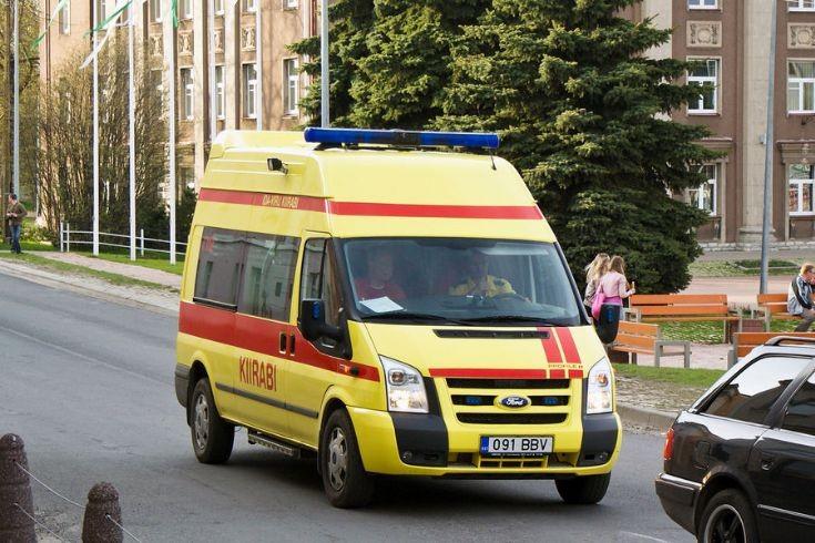 Jõhvi town ambulance (Estonia)