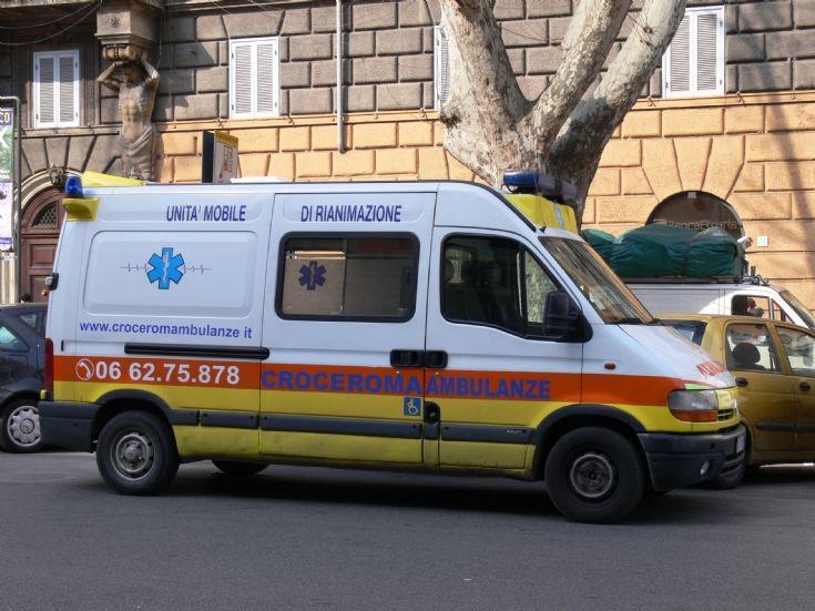 Renault Master Ambulance, Rome (Italy)