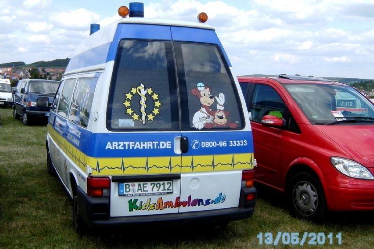kids ambulance at Fulda