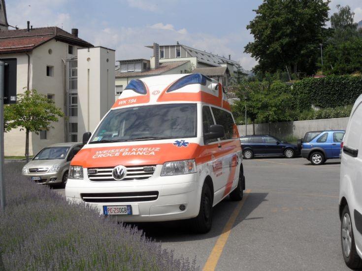 VW Transporter, Weisses Kreuz