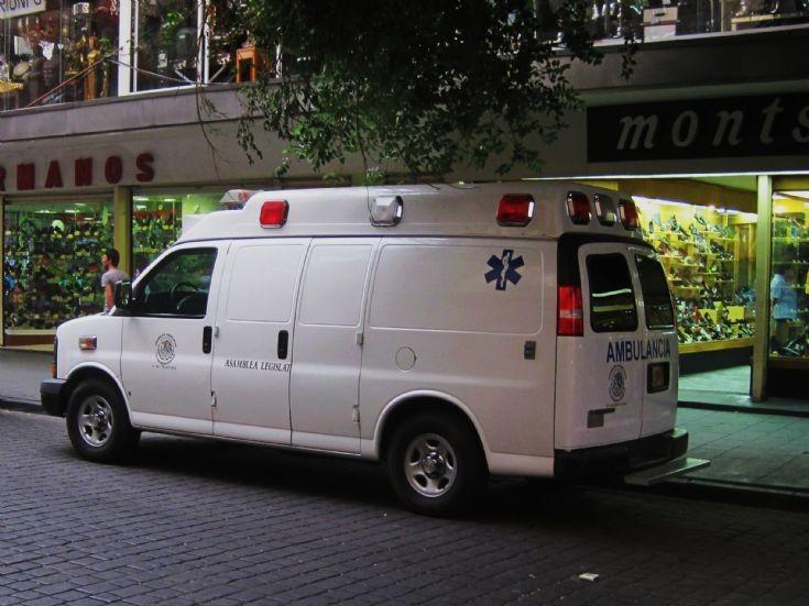 Chevrolet ambulance