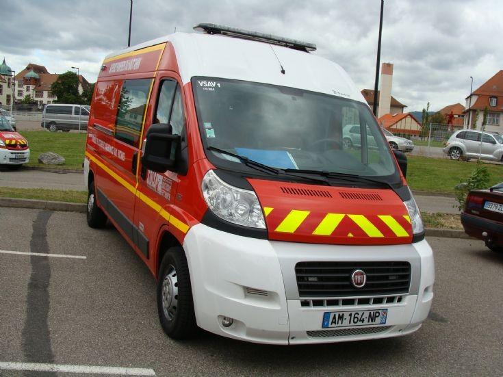 Ambulance FIAT Colmar France