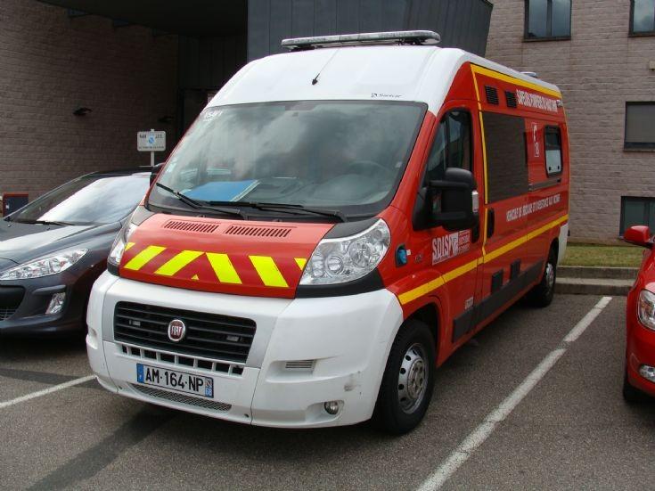 Ambulance FIAT Colmar-France