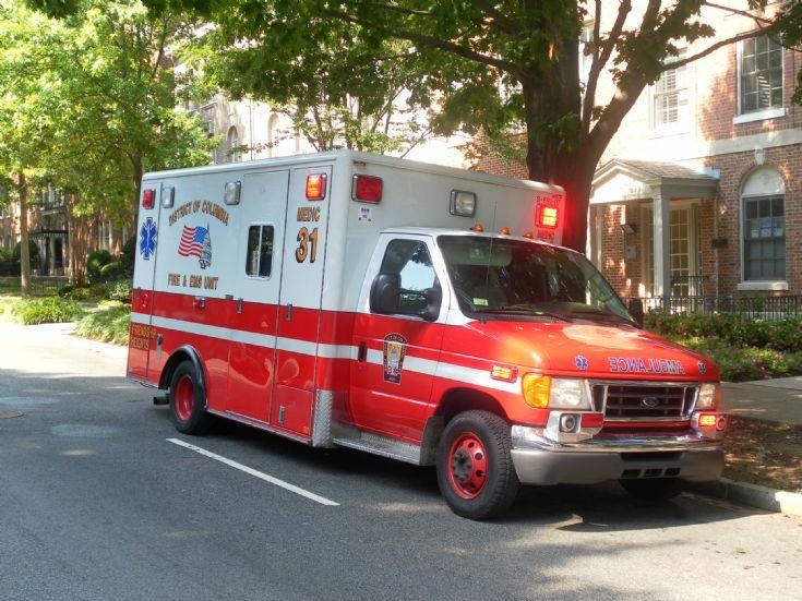 Columbia EMS unit