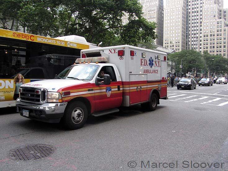 Ford Ambulance 120 FDNY Manhattan