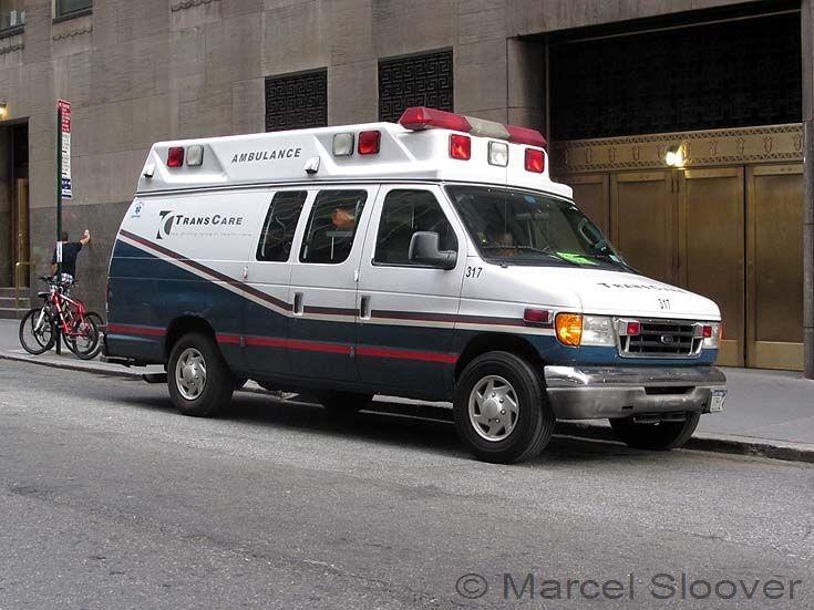 Ford TransCare Ambulance Manhattan