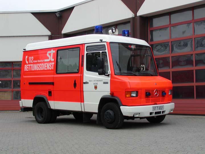 Kreis Steinfurt Rettungsdienst Mercedes 611D