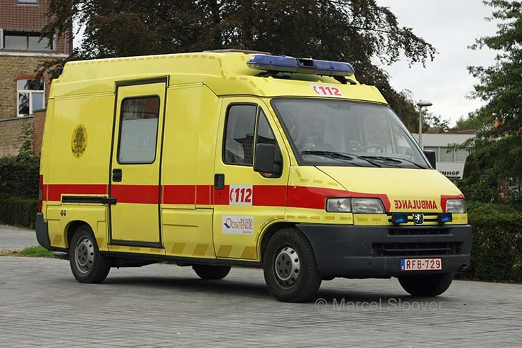Gistel ambulance
