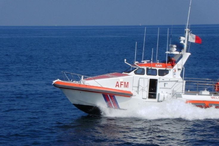 Melita 1 SAR Boat of the armed forces malta