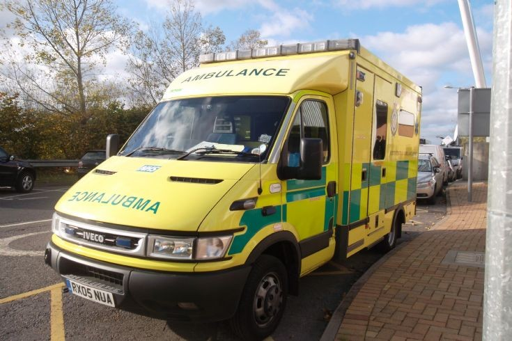 Photo of South Central Ambulance Iveco
