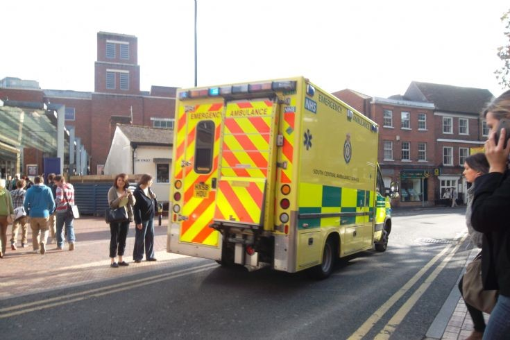 South Central Ambulance Iveco-based