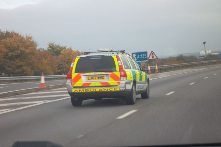 South Central Volvo Rapid Response Vehicle