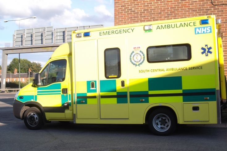 South Central Ambulance Iveco - in Newbury