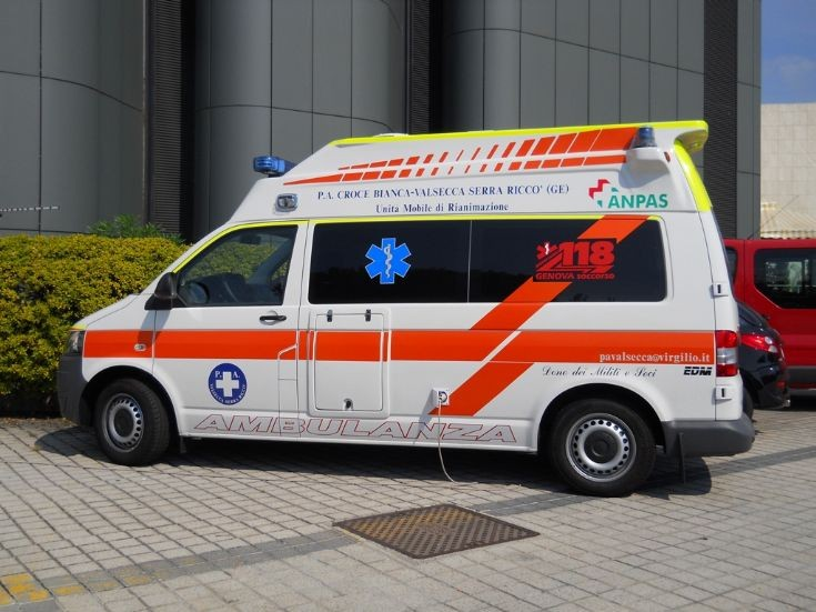 Ambulance Van in Genoa