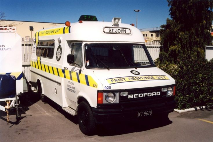 New Zealand Bedford KT9678