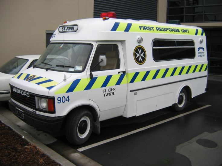 New Zealand Bedford First Response Unit