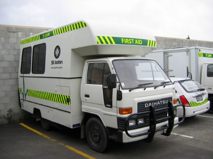 New Zealand Daihatsu Ambulance