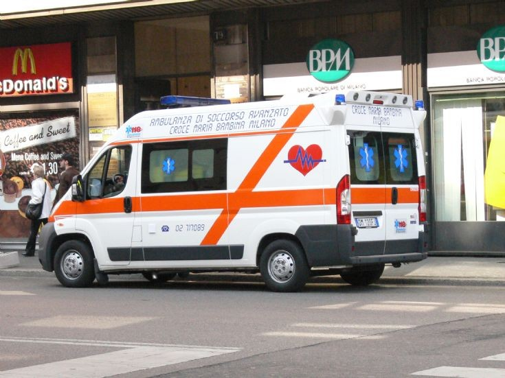 Ambulance Milan (Italy)