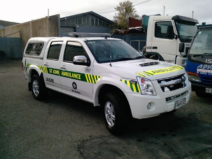 New Zealand Isuzu FWW932