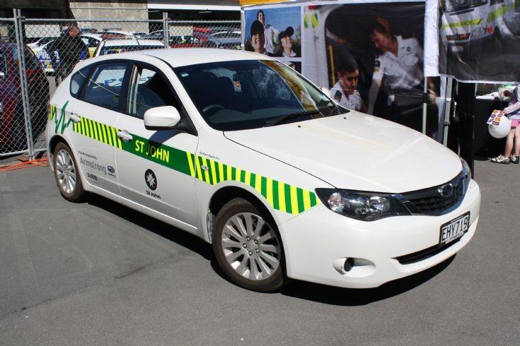 New Zealand Subaru EHY719
