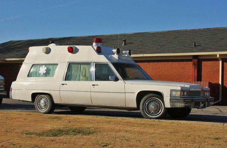 Caddy Ambulance.