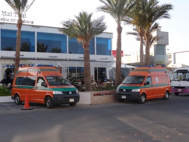 Volkswagen T5 Ambulance, Egypt 2012