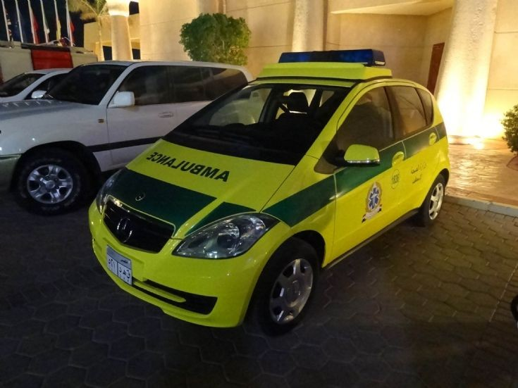 Mercedes Benz Paramedic Vehicle Egypt (1)
