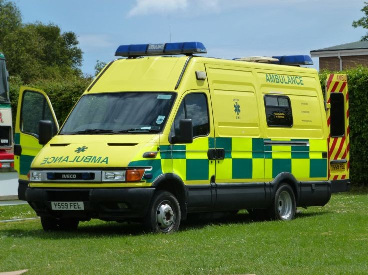 Devon EMS ambulance van