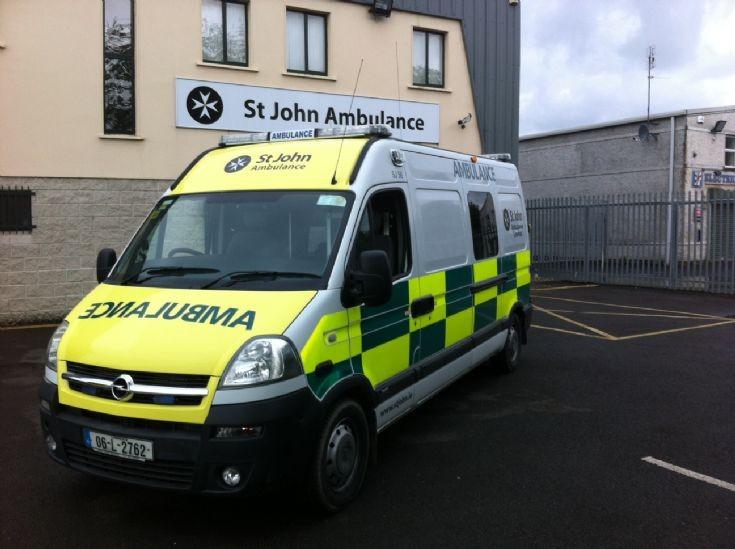 St John Ambulance Opel Movano SJ56