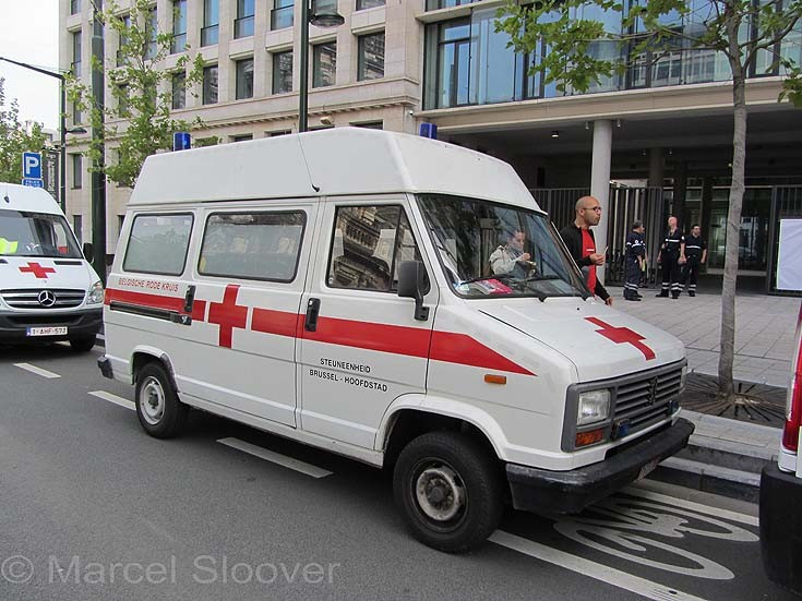 Peugeot Red Cross Brussels