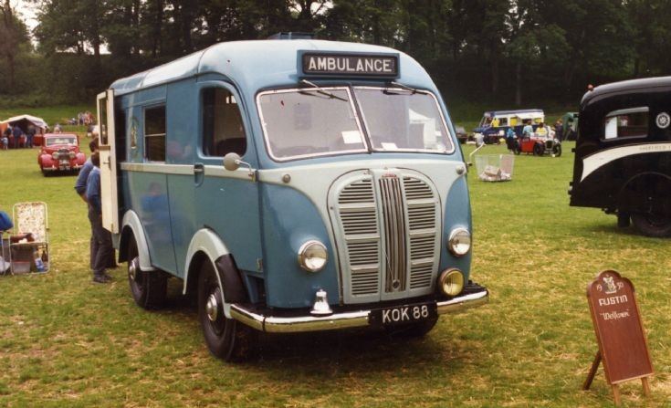 Nottinghamshire Austin K8 of 1950