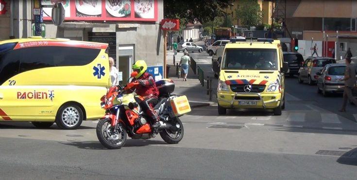 Ambulance Motorcycle ( Ljubljana, Slovenia )