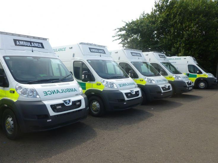 Scottish Ambulance Service New Peugeots