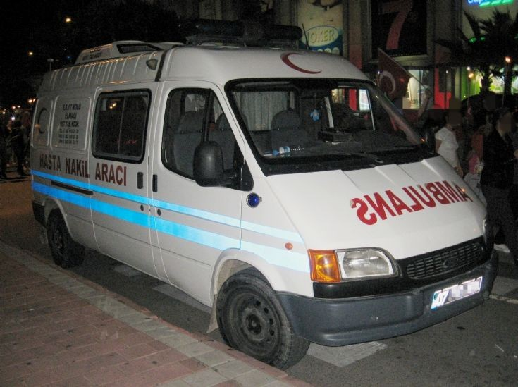 Ford Transit Ambulance 1