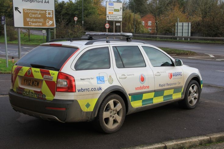 Rapid response car at Newbury