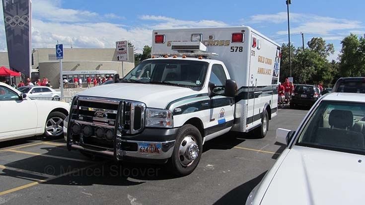 Ambulance in Salt Lake City