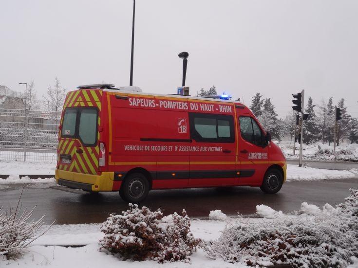 Ambulance Colmar FD68 Renault