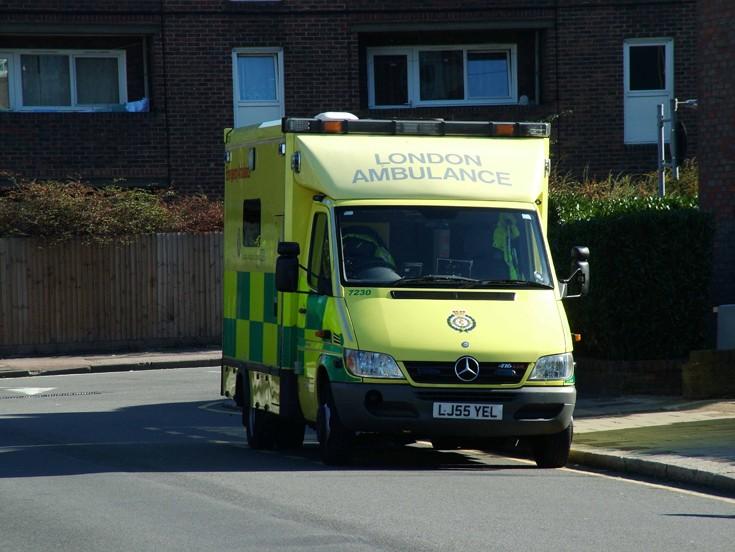 Photo of London ambulance
