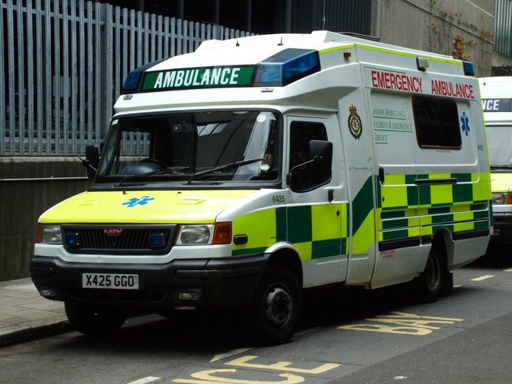 Ambulance at London HQ