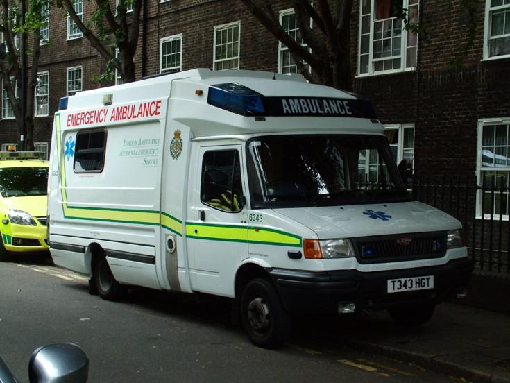 London Ambulance A&E Service