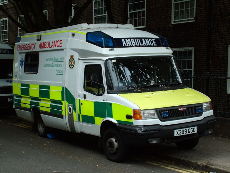 2000 LDV Ambulance