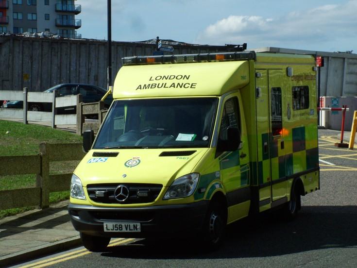 London Ambulance Service 7667