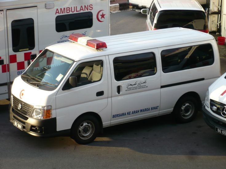 Nissan Urvan Hearse