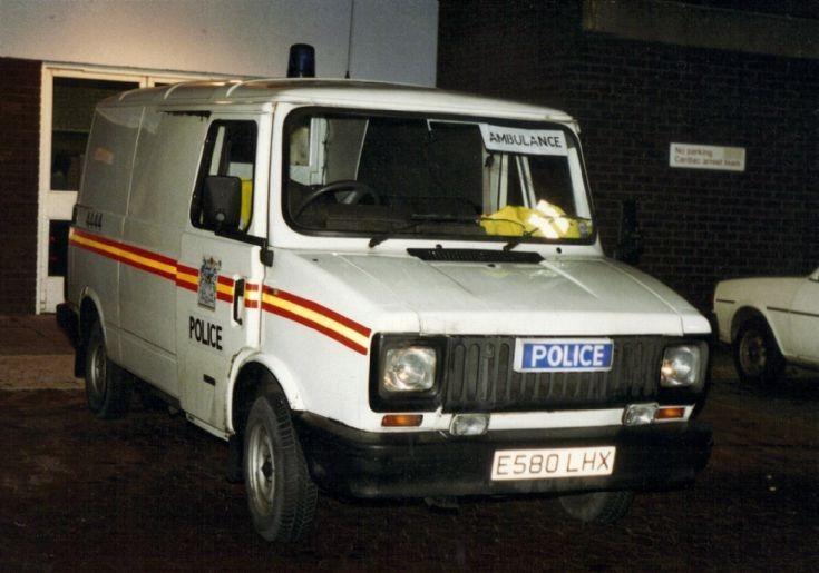 Police Ambulance 1989
