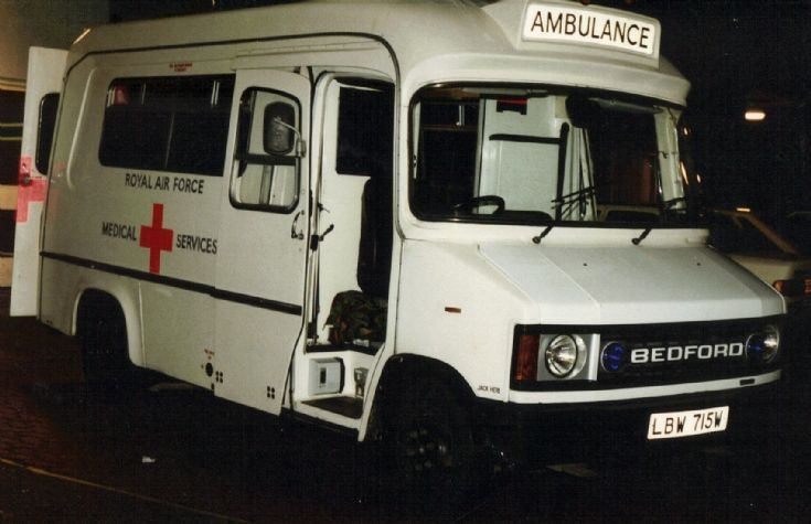 RAF Ambulance LBW715W