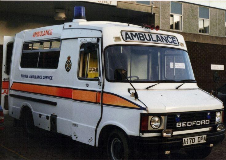 SAS Bedford A170 DPA