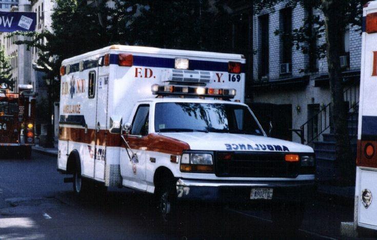 FDNY Ambulance 169