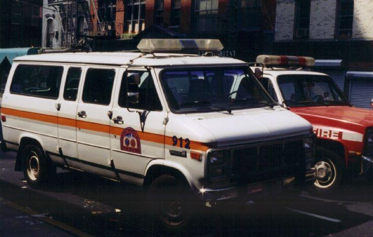 New York EMS Minibus